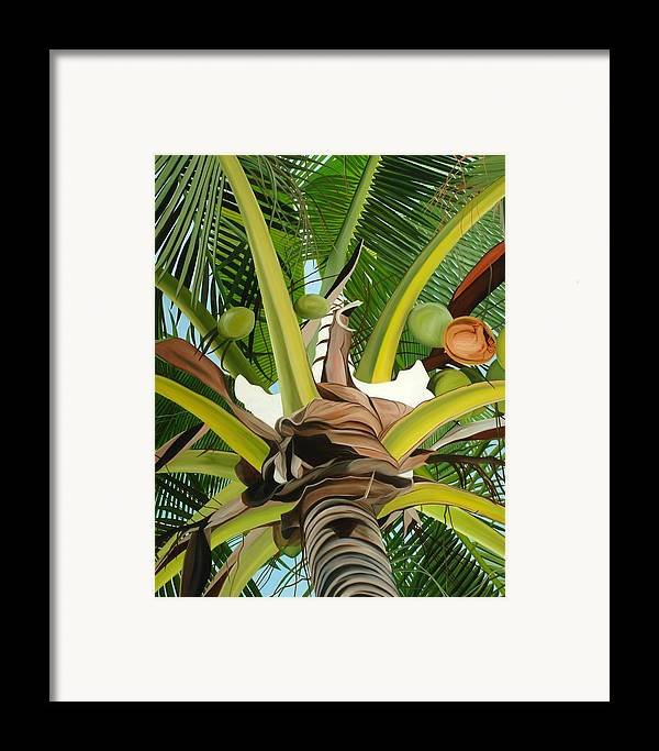 Fruit Framed Print featuring the painting Bearing Life by Sunhee Kim Jung