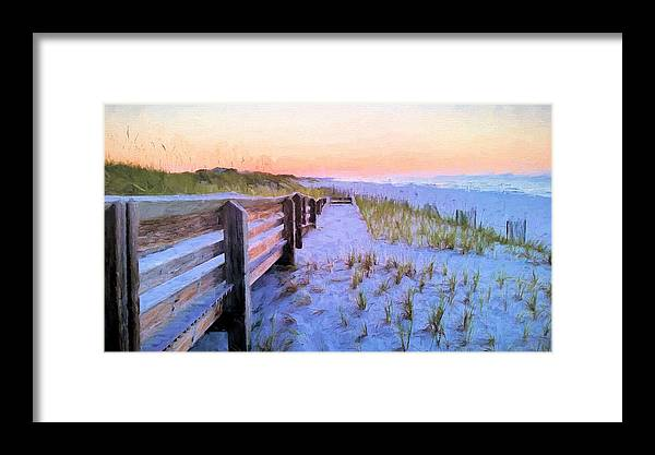 Beach Framed Print featuring the photograph Beasley Park by JC Findley