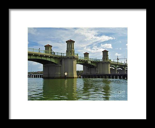 Bestseller Framed Print featuring the photograph Beautiful Bridge Of Lions by D Hackett