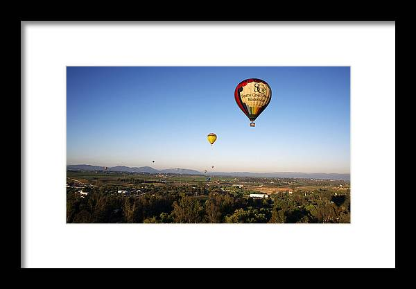 Beautiful Framed Print featuring the photograph Beautiful California Country Side, Temecula by Jaime Pomares
