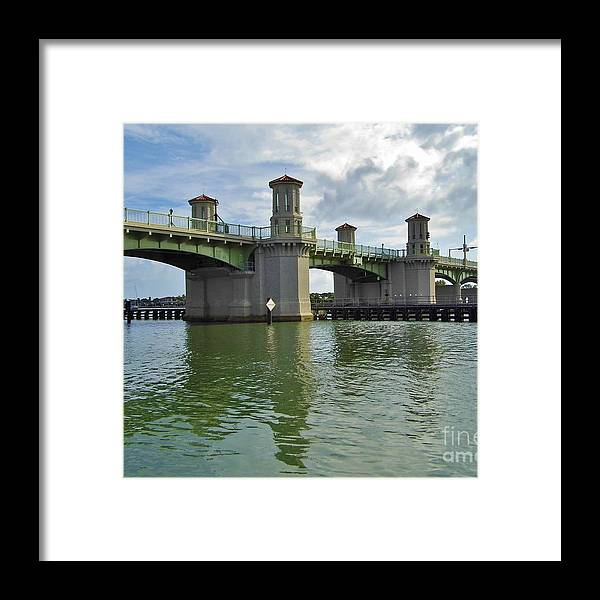 Bestseller Framed Print featuring the photograph Beautiful Day At The Bridge Of Lions by D Hackett