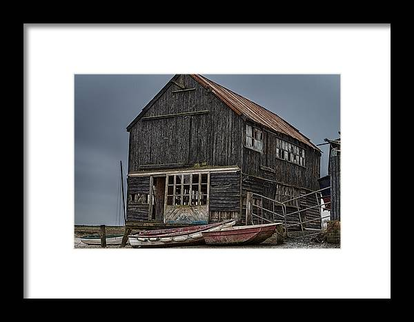 Ruin Framed Print featuring the photograph Beautiful Dereliction by Jamie McConnachie