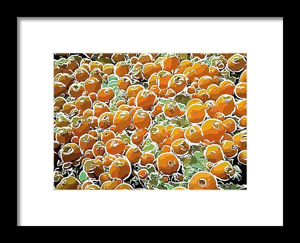 Starfish Framed Print featuring the painting Beautiful Marine Plants 3 by Lanjee Chee