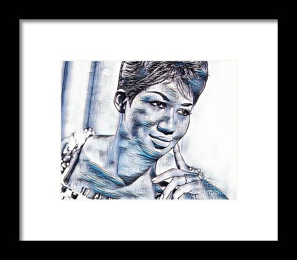 Beautiful Soul Framed Print featuring the photograph Beautiful Soul by Pd
