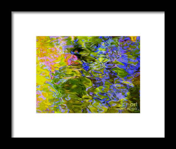 Abstract Framed Print featuring the photograph Potential Of The Cosmos by Sybil Staples
