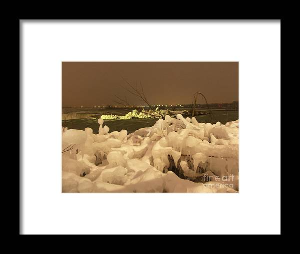 Ice Framed Print featuring the photograph Beauty In Nature by Deborah Selib-Haig DMacq