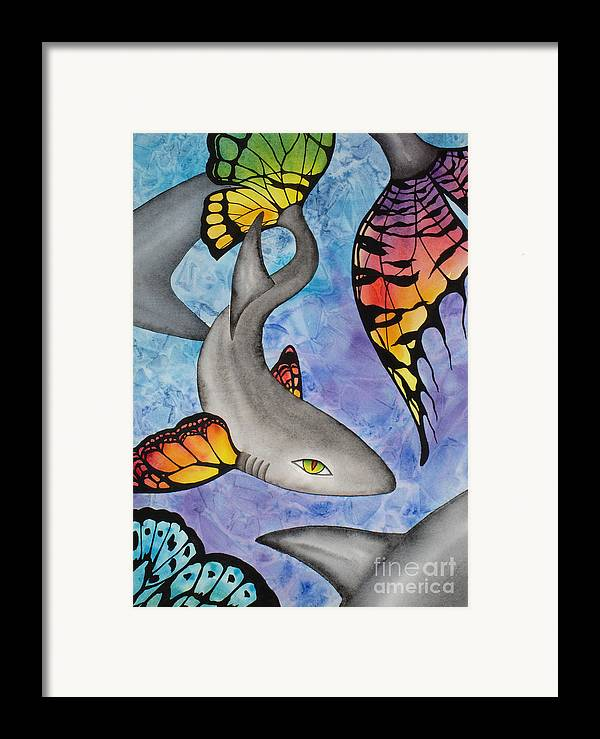 Surreal Framed Print featuring the painting Beauty In The Beasts by Lucy Arnold