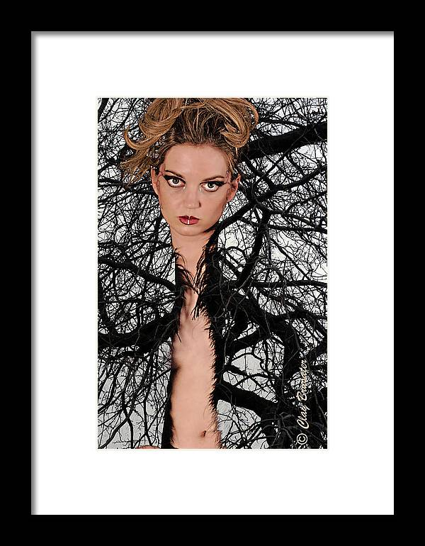 Composite Framed Print featuring the photograph Beauty Of Nature by Clayton Bruster