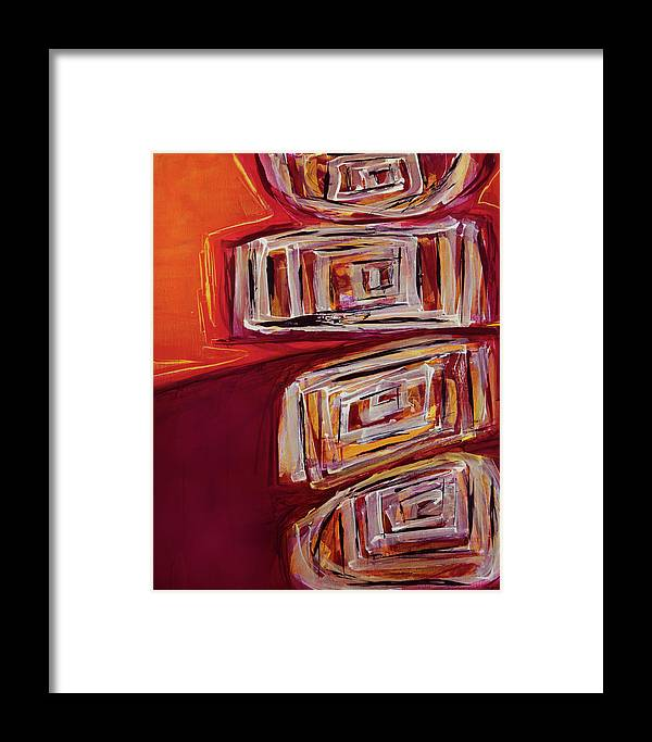 Canvas Print Framed Print featuring the painting Bedazzled by K Batson Art