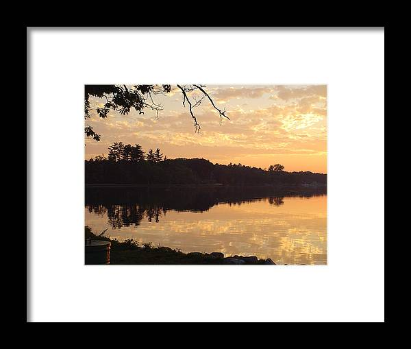 Lake Framed Print featuring the photograph Before Daybreak by Dennis Leatherman