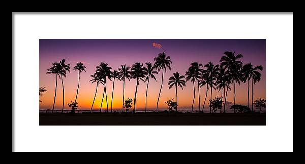 Sunrise Framed Print featuring the photograph Before Sunrise In Kauai by Pierre Leclerc Photography
