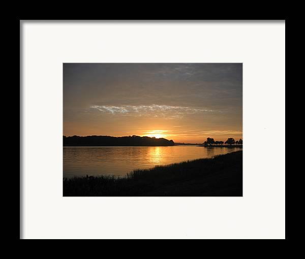 Sunrise-sunset Photographs Framed Print featuring the photograph Beginning Light by Frederic Kohli