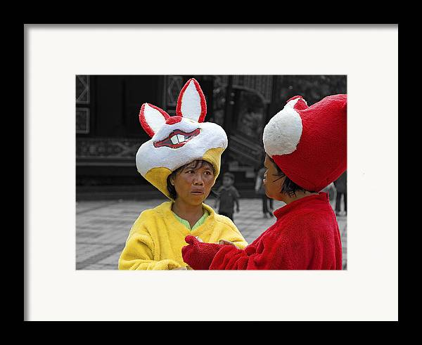 Life Framed Print featuring the photograph Behind The Mask by Charuhas Images