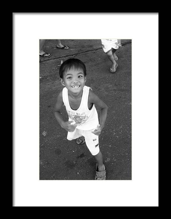 Photographer Framed Print featuring the photograph Being Kids 5 by Jez C Self