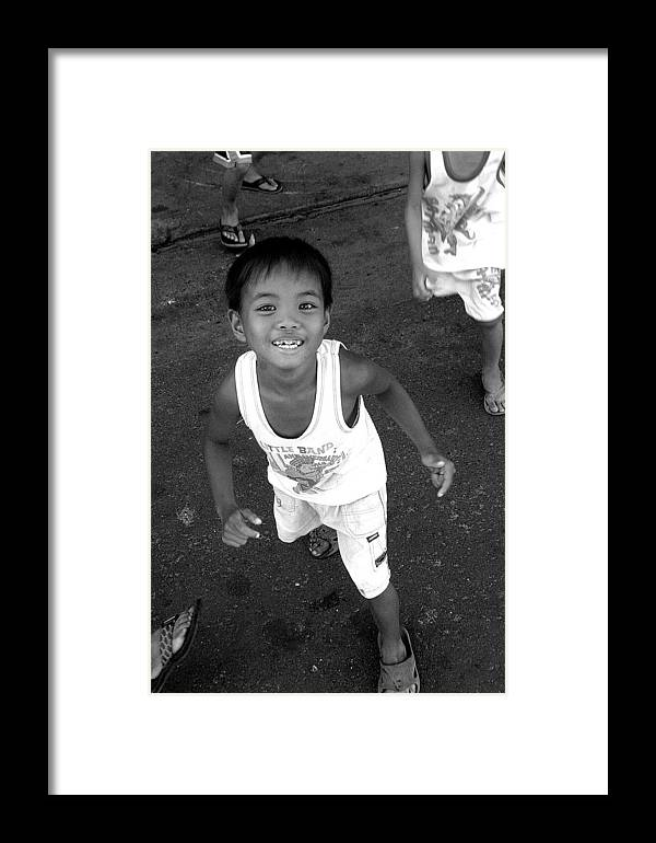 Photographer Framed Print featuring the photograph Being Kids 8 by Jez C Self
