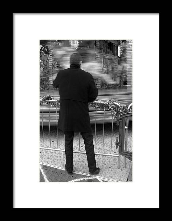 Jez C Self Framed Print featuring the photograph Being Patient by Jez C Self