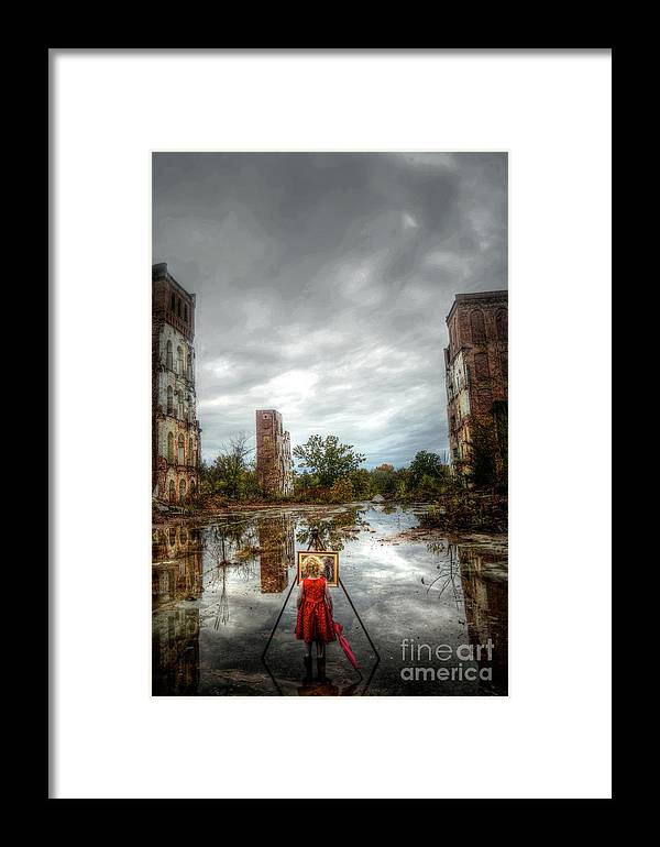 Framed Print featuring the photograph Being There by David Paul