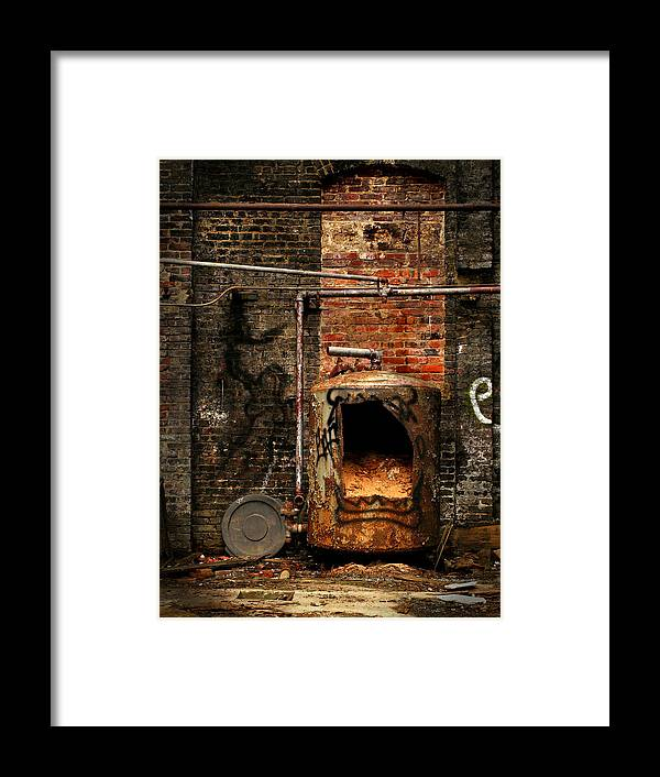 Factory Framed Print featuring the photograph Belly Of The Beast by J K York