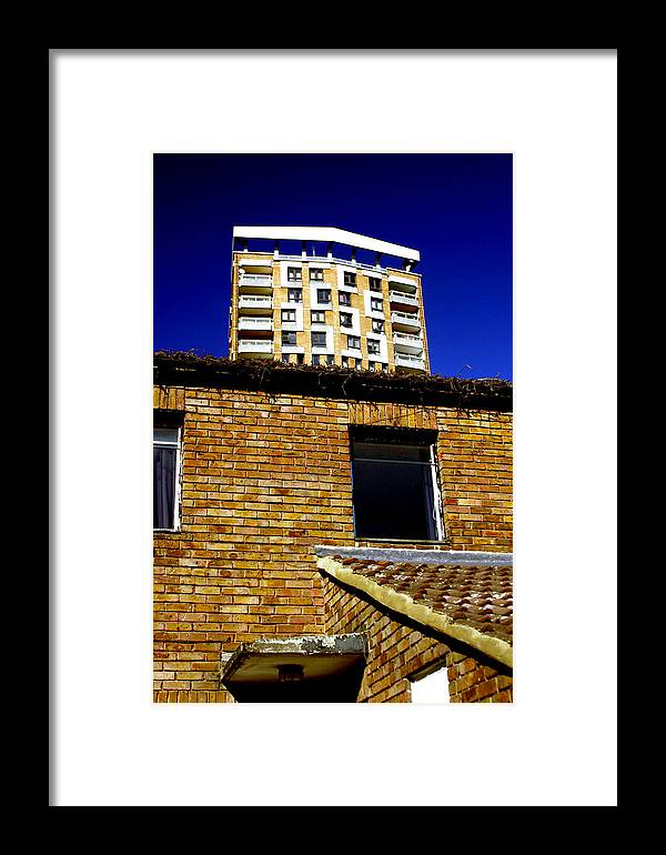 Jez C Self Framed Print featuring the photograph Below Yet Above by Jez C Self