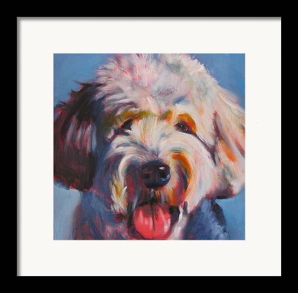 Framed Print featuring the painting Ben by Kaytee Esser