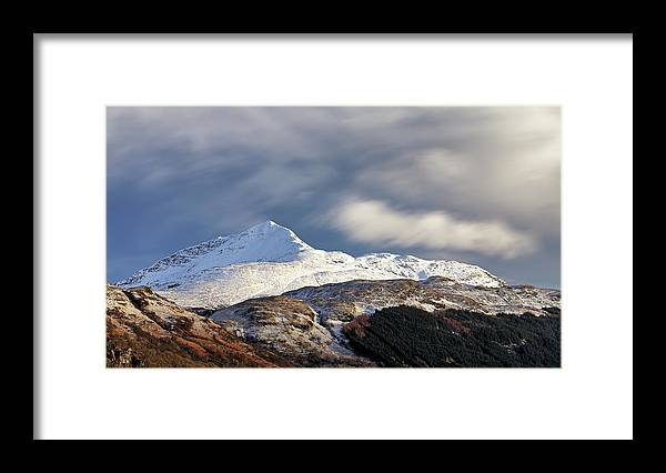 Ben Lomond Framed Print featuring the photograph Ben Lomond by Grant Glendinning