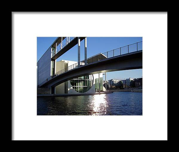 Marie-elisabeth-lueders Framed Print featuring the photograph Berlin by Flavia Westerwelle