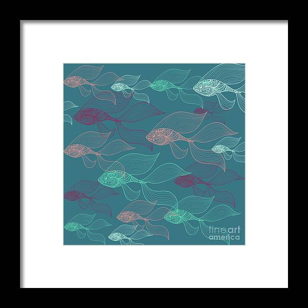Dolphins Framed Print featuring the photograph Beta Fish by Mark Ashkenazi