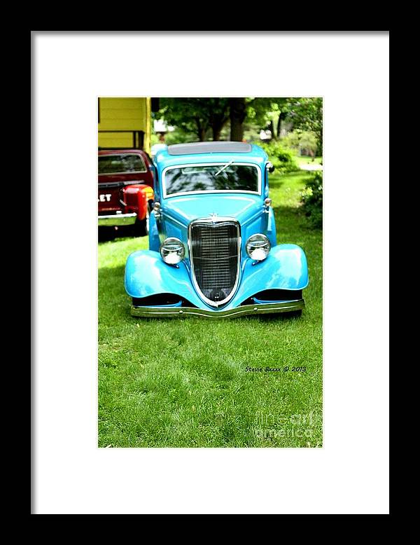 Classic Vintage Auto Automobile Car Life Photograph Collect Collection Framed Print featuring the photograph Beyond Classic. by Stevie Ellis