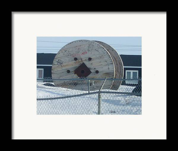 Winter Framed Print featuring the photograph Beyond Reach by Sharon Stacey