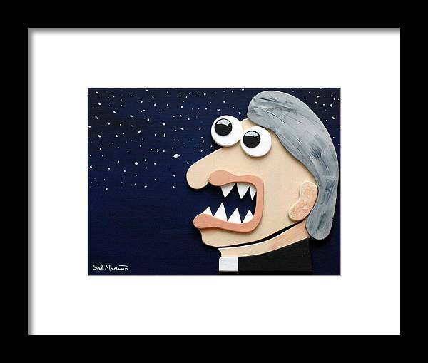 Funism Framed Print featuring the sculpture Beyond Stars by Sal Marino