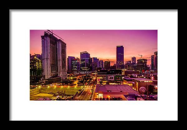 Bgc Framed Print featuring the photograph BGC by PJ Ibasco