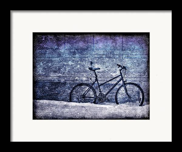 Bicycle Framed Print featuring the photograph Bicycle by Evelina Kremsdorf