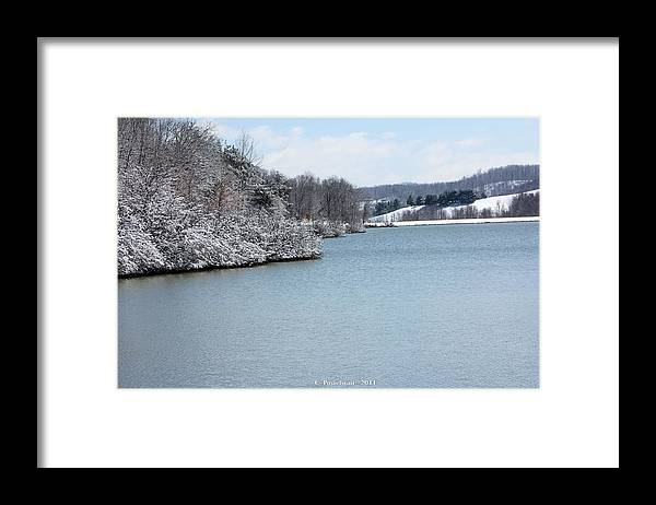 Big Ditch Lake Framed Print featuring the photograph Big Ditch Lake 2 by Carolyn Postelwait