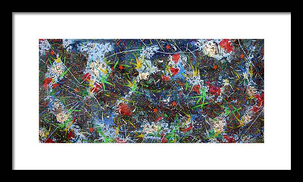 Framed Print featuring the painting Big Fish by Biagio Civale