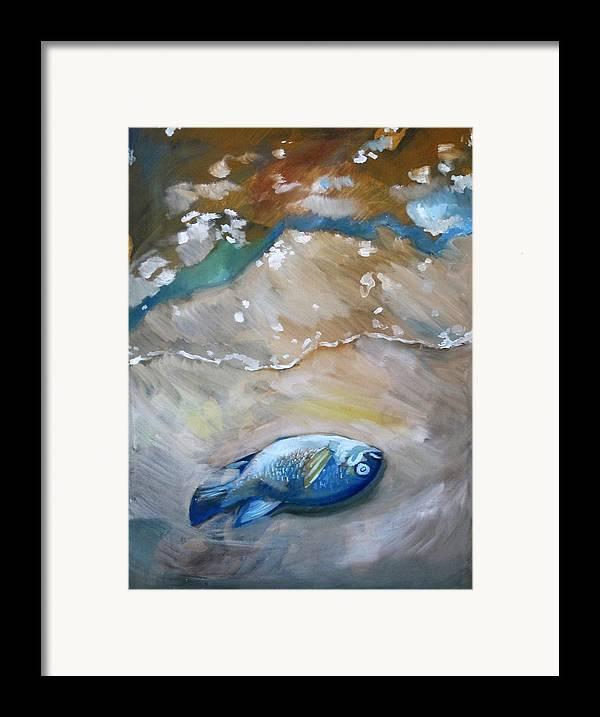 Big fish framed print by idie karr for Big fish printing