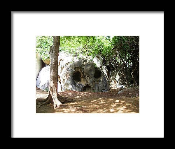 Landscape Framed Print featuring the photograph Big Head by Norman Kraatz