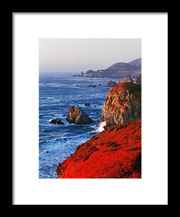 Big Sur Framed Print featuring the photograph Big Sur by James Rasmusson