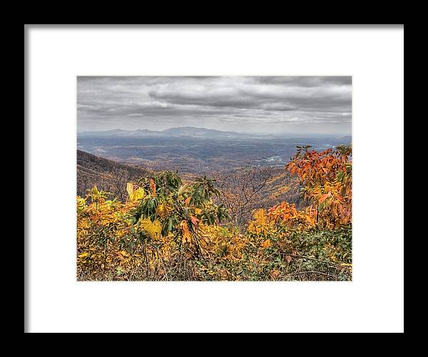Landscape Framed Print featuring the photograph Big Valley by Michael Edwards