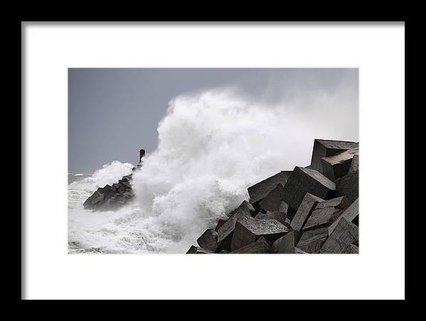 Spain Framed Print featuring the photograph Big Waves II by Rafa Rivas