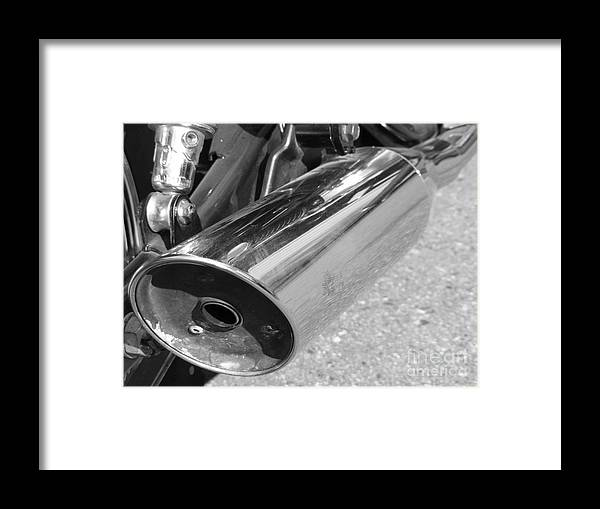 Bike Framed Print featuring the photograph Bike Parts 09 by Attila Jacob Ferenczi