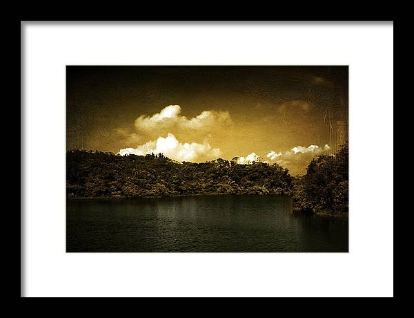 Illustration Framed Print featuring the photograph Billings by Valmir Ribeiro