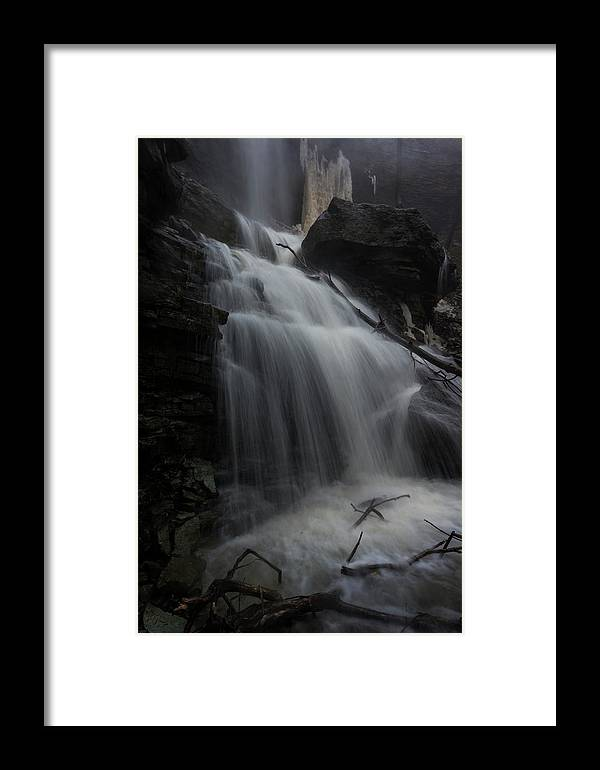 Canada Framed Print featuring the photograph Billy Green Falls by David Hook