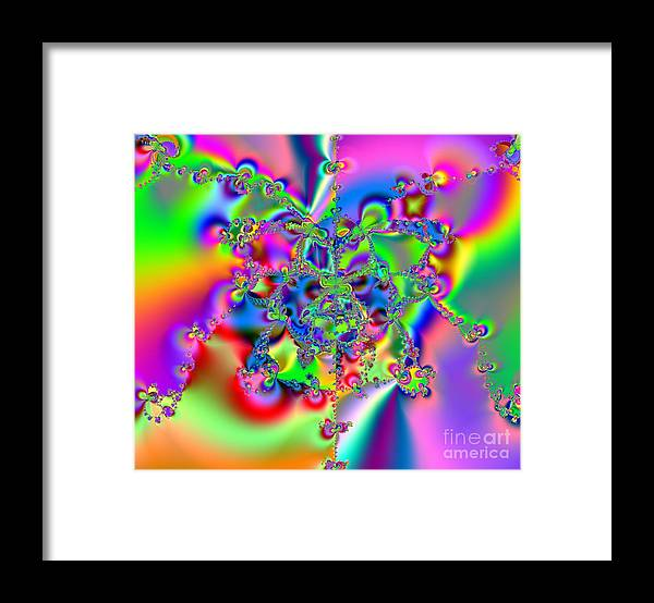 Keri West Framed Print featuring the photograph Biochords by Keri West