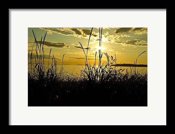 Framed Print featuring the photograph Birch Bay Sunset by JK Photography