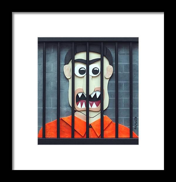 Funism Framed Print featuring the sculpture Bird by Sal Marino