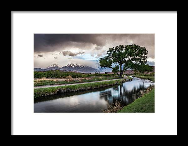 Canal Framed Print featuring the photograph Bishop Canal by Cat Connor