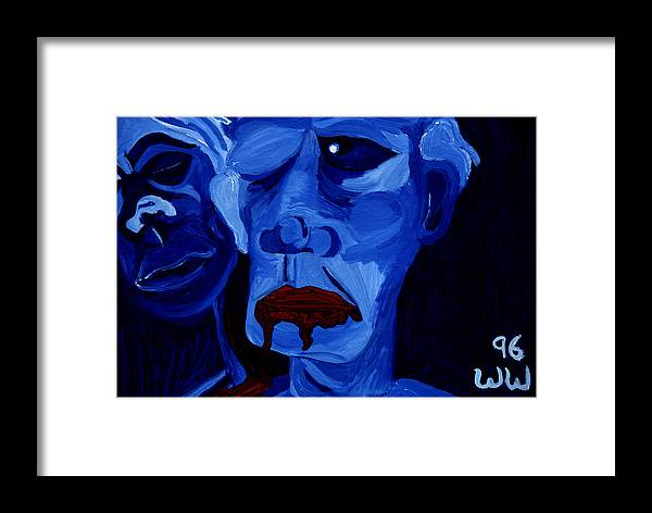 Abstract Framed Print featuring the print Bitterness by William Watson