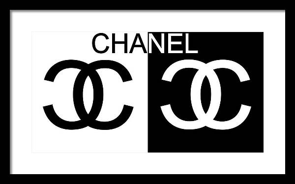 Chanel Framed Art Prints  9a90c37438f21