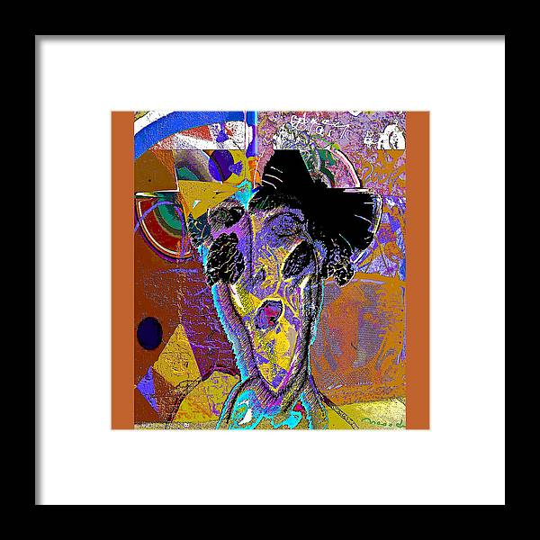 Grafiti Framed Print featuring the painting Black Butterfly by Noredin Morgan