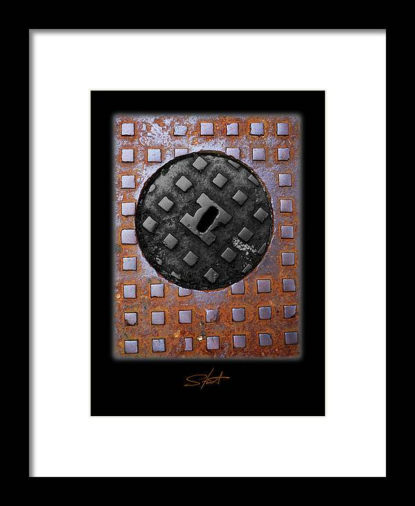 Heavy Metal Framed Print featuring the photograph Black Diamond by Charles Stuart